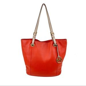 Large carryall tote shoulder handbag